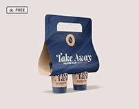 Free Take Away Paper Cup Mockup