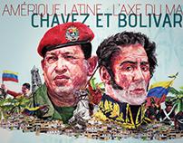 Chavez et Bolivar Illustration