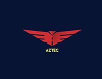 AZTEC | Motor Cycle Logo