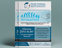 Functional Movement Opening Flyer Design!