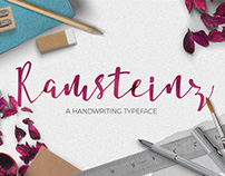 Ramsteinz Typeface
