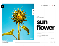 Plant Website - Header Animation