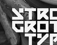 Grotesque typeface