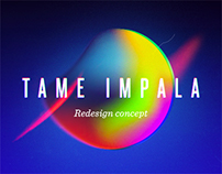 Tame Impala - Redesign Concept