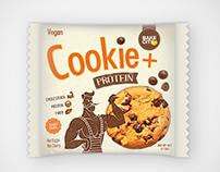 Protein cookie, packaging design