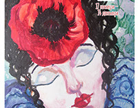 The colors of the woman, Exhibition, Lady poppy