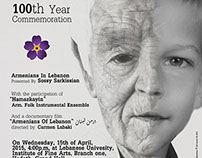 Armenian Genocide 100th Commemoration