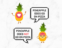 Pizza Hut Social Content