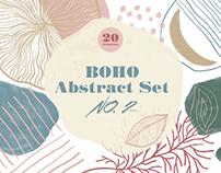 BOHO Abstract Set NO. 2
