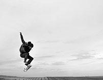 Skate Rain & BW