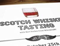 Scotch Whiskey Tasting poster
