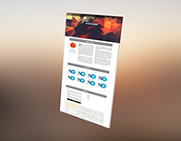 3D Screen / Web page Design