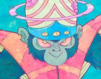Ilustras Psicodélicas - As Meninas Superpoderosas