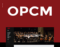 OPCM Web Redesign
