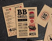 BB Grill menu