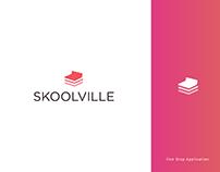 Skoolville - Logo design