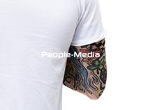 People-Media   Redesign website