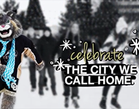 CU Denver 2013 Holiday Card