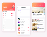 Coins Collecting App Design