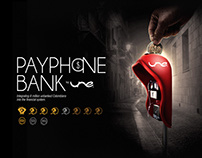 Payphone Bank by UNE