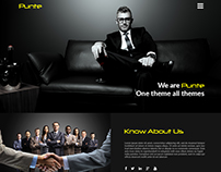 Punte - Wordpress Theme