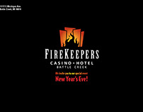 FireKeepers Casino Hotel New Year's Eve Invitation