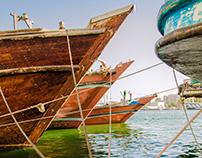 Dubai docks