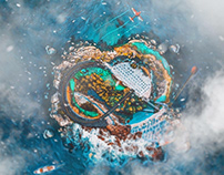 Creative Cloud Island