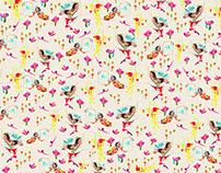 Mujer Pájaro. Pattern