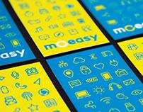 Moeasy Branding Design