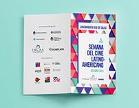 Brochure Semana del Cine Latinoamericano - INCAA