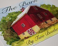 The Barn by Two Brother's Promotional Postcard
