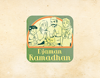 Djaman Ramadhan Line Sticker