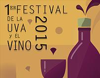Propuesta Cartel / Feria de la Uva y el Vino / UAA