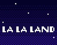 La La Land in Pixel art