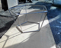 Stainless Steel Table structures produce by Inox G-art