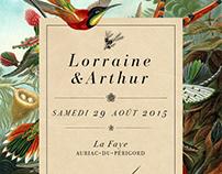Lorraine & Arthur / Wedding Design