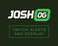 JoshOG Twitch Overlay and Alerts