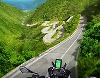 llustratie TomTom Rider Great Rides Edition