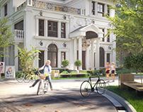 Classical Villa - Architecture Visualization