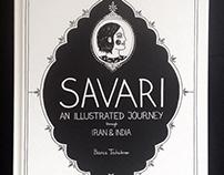 SAVARI – an illustrated journey through Iran & India