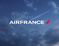 Air France - Website concept