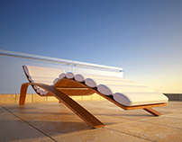 FURNITURE - [ Outdoor Lounge Chair ARES ]