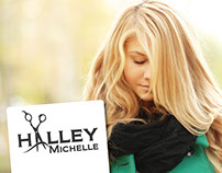 Logo Design - Hair By Halley