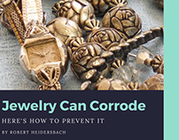 Jewelry Can Corrode, Here's How to Prevent It