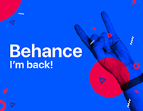 Behance I'm back! Dribbble collection vol. 1