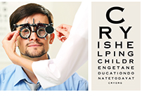 Spec work. Cry Eye Poster.