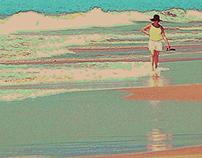 Patty on Playa Larga