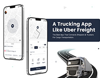 Create Best-in-Class Trucking App like Uber Freight