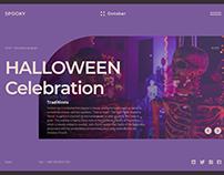 Halloween Theme Weekly UI Challenge